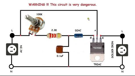 Sppd Contoh by Ac Motor Speed Circuit How To Make Single Phase