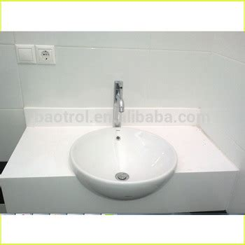 arctic white bathroom countertops custom size solid surface vanity top buy solid surface