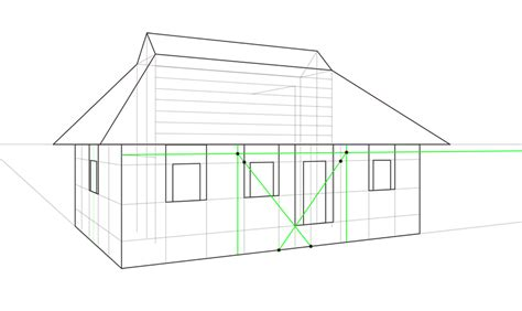 house porch drawing how to draw a house by