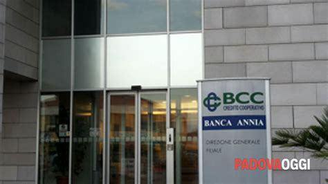 banca veneziano fusione di banca veneziano e banca annia sede a cartura