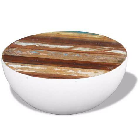 vidaxl co uk vidaxl coffee vidaxl bowl shaped coffee table solid reclaimed wood 60x60x30 cm vidaxl co uk