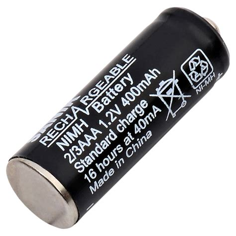 2 3 Aaa Button Top Rechargeable Nimh Battery For Solar Aaa Solar Light Batteries