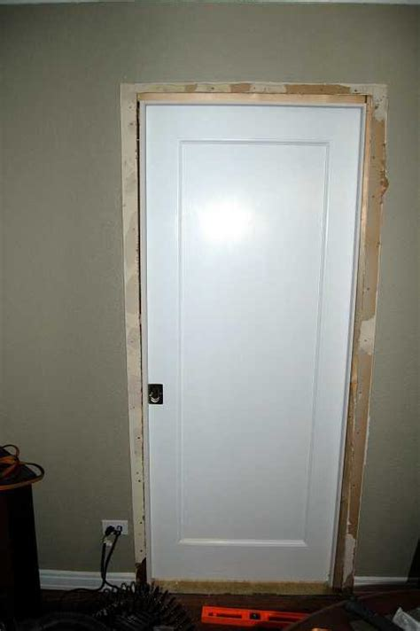 How To Reframe A Door by 87 How To Reframe A Door Open Wide A Simple