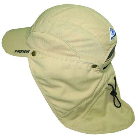 hyperkewl khaki ultra sport cooling hat with detachable
