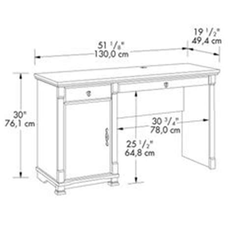 standard desk length 1000 ideas about desk dimensions on pinterest glass