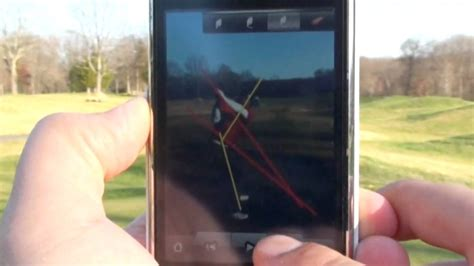 golf swing analyzer iphone golf swing analyzer iphone android iswing youtube