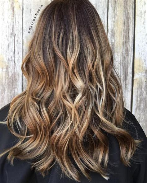 Light Brown Balayage by 40 Of The Best Bronde Hair Options