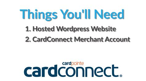 how to make a website that accepts credit cards things you ll need cardconnect bancardsales