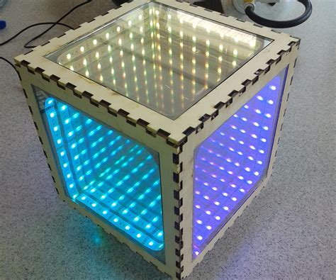 infinity mirror how to make an infinity mirror box