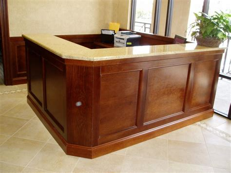 Custom Made Reception Desk Custom Built Reception Desks Pictures To Pin On Pinsdaddy