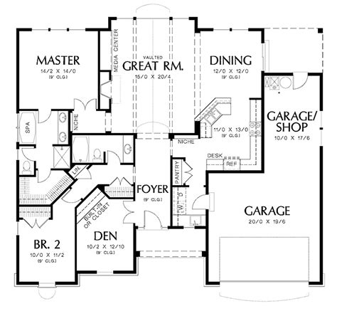 blueprint house plans design ideas an easy free online house floor plan maker