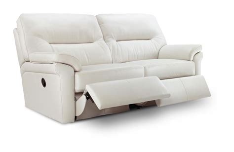Carters Furniture by G Plan Washington Leather Recliner 2 Seater Sofa Small Sofas Carters Furniture Centre Ltd