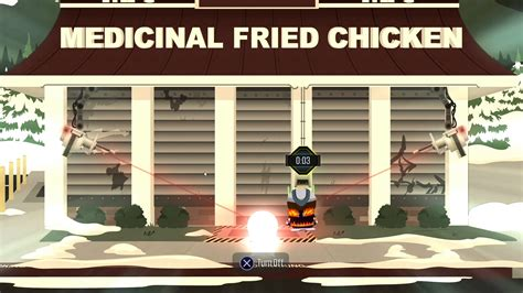 get past fried chicken security system south park