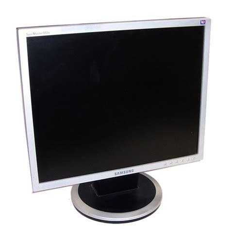 Monitor Samsung 19 Inch samsung syncmaster 940n type gh19ls 19 inch lcd monitor silver grade b ebay