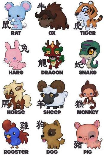 new year animals order 1000 ideas about zodiac signs on