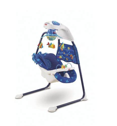 fisher price wonders aquarium cradle swing reviews