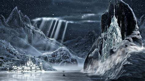 frozen wallpaper arendelle frozen 1920x1080 arendelle ice palace 2 by cographic