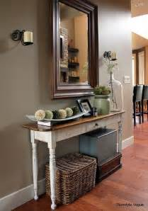 Front Hallway Table Vignette Decor Search Home Decor