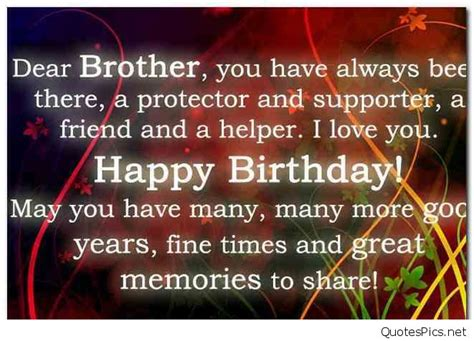 Happy Birthday Big Quotes Happy Birthday Wishes Texts And Quotes For Brothers