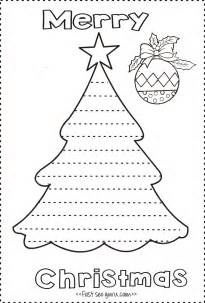 print out tree write a letter template to santa
