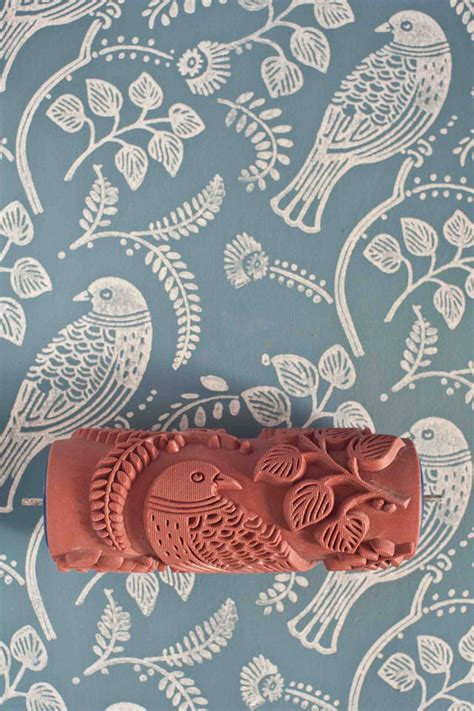 paint rollers with designs patterned paint roller kit fubiz media