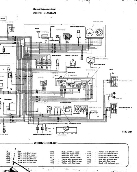 electrical wiring diagram of maruti 800 car free