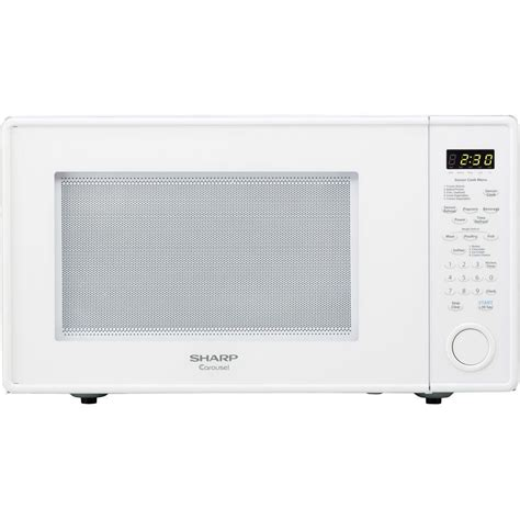 Sharp Microwave Countertop by Sharp Microwave Ovens Carousel 1 8 Cu Ft 1100 Watt