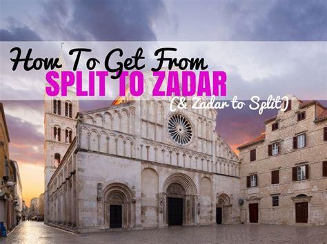 ferry zadar to split how to get from split to zadar zadar to split croatia