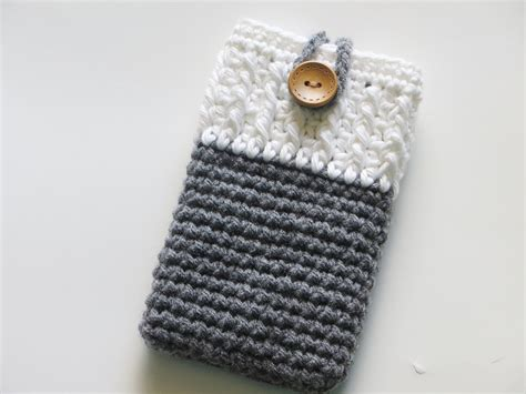 Crochet Pattern Phone Bag | crochet dreamz mobile phone cozy or case crochet pattern