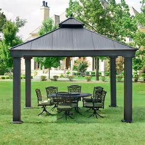 Garden Treasures 12x12 Aluminum Gazebo by Garden Gazebo What A Great Addition To Your Place