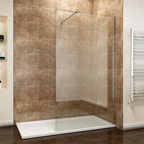 Clean Glass Shower Screen by Room Shower Screen Enclosure Walk In Cubicle 8mm Easy