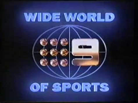Wide World Of Win Television Ident Sponser Board Wide World Of Sports
