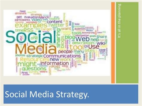 Social Media Strategy Template Social Media Templates