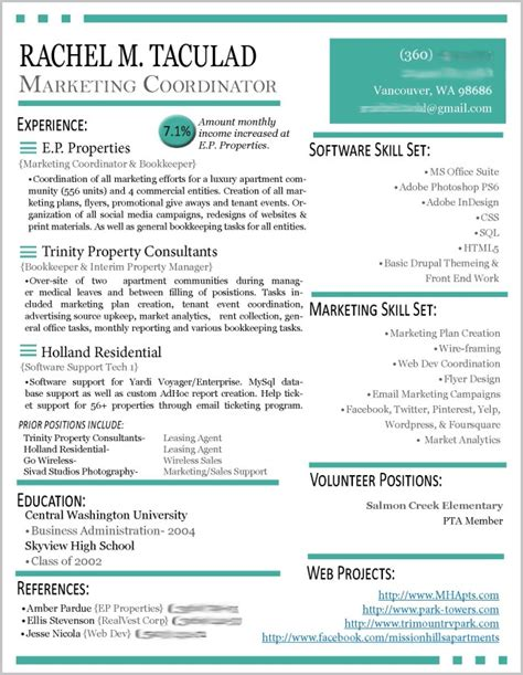 Resume Templates Word 2013 by Resume Templates On Word 2013 Resume Resume Exles