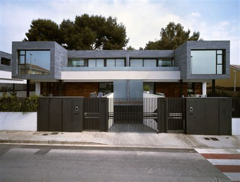 concrete and wood house modern designs within gallery of house fence designs spaced interior photos and pictures