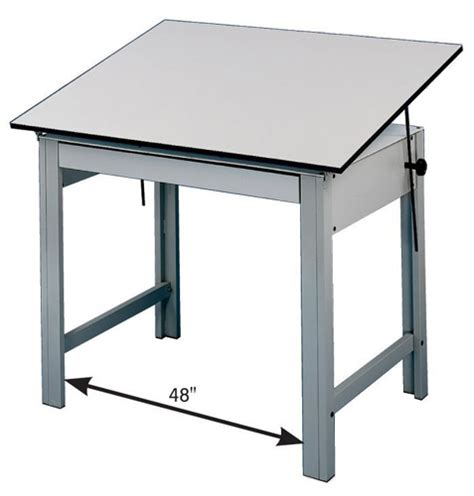 Drafting Table Size Alvin Designmaster Drafting Table 36x48 Top Office Height