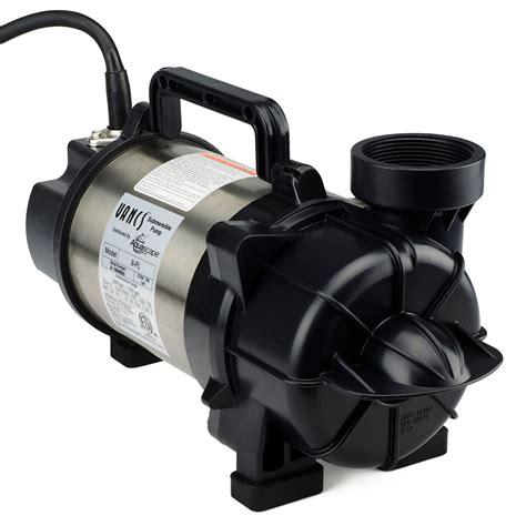 Aquascape Pumps by Aquascape Tsurumi 9pl 7000 Gph Skimmer Filter Waterfall
