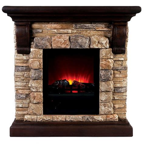 Electric Faux Fireplace by 40 25 Quot Vesti Faux Electric Fireplace