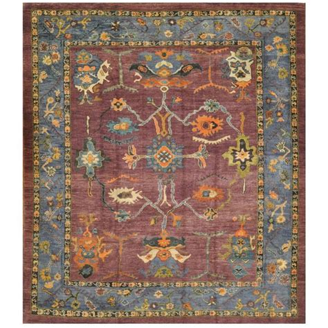 knotted rugs for sale room size knotted oushak rug for sale at 1stdibs