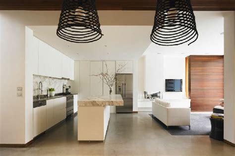wohnzimmer mit küche wandfarbe apricot schlafzimmer