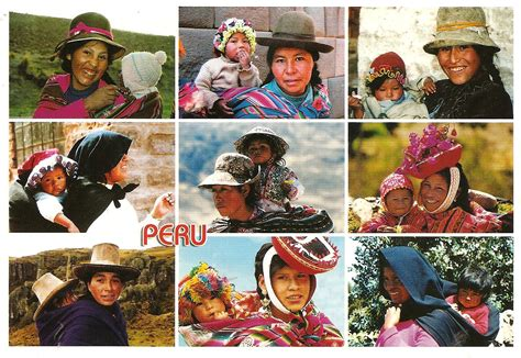 Greetings From Peru 2 by My Postcard Page Peru With Children