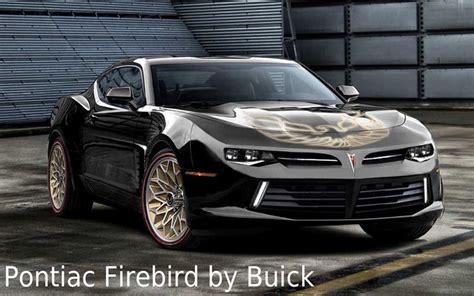 Pontiac New Cars by New Pontiac Firebird Concept Rolling