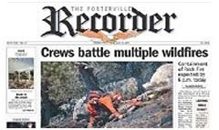 Porterville Recorder Notices Porterville Recorder Newspaper Subscription Lowest Prices On Newspaper Delivery