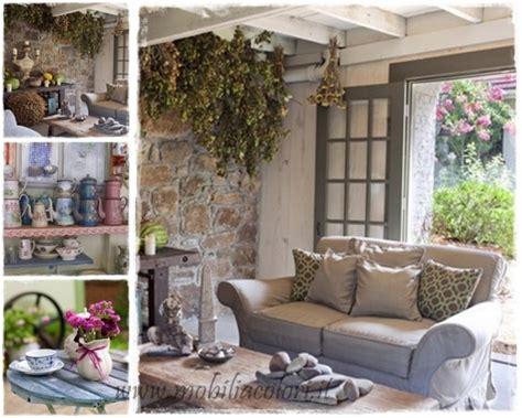 arredamenti stile country mobili salotto country idee per il design della casa