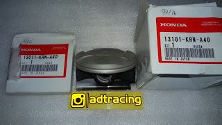 Piston Klx 150 Ori adtracing spare parts motor cbu dan part racing drag