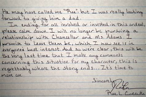 Carruth Letter To Saundra
