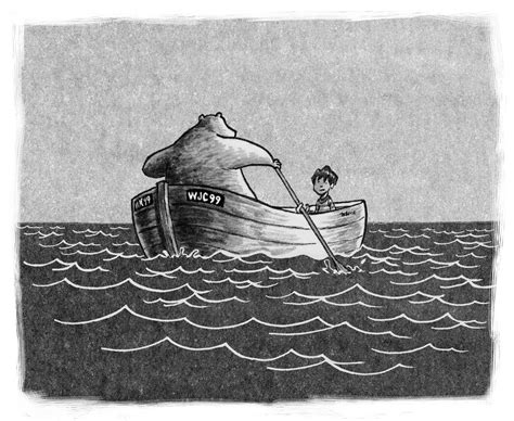 bear boat review of the day a boy and a bear in a boat by dave