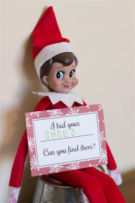 printable elf on the shelf cards free printable elf on the shelf hide and seek cards over