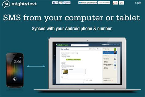 text from computer android and computer hacks send and sync sms from your pc using android phone