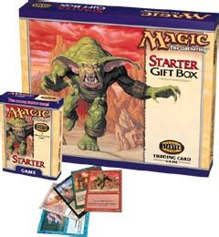 Card Tcg 1999 2 Player Starter Set Us Version magic the gathering starter page